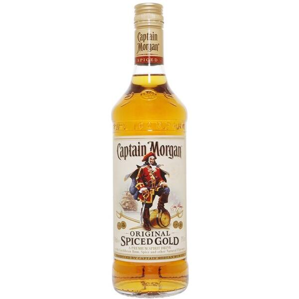 Captain Morgan Spiced Gold rum 0,7L 35%
