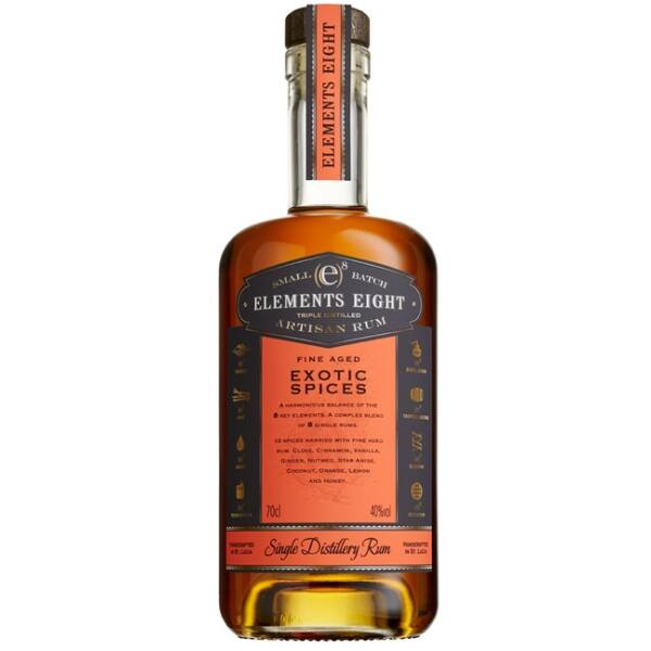 Elements eight Exotic Spiced rum 0,7L 40%