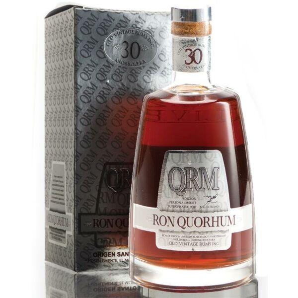 Quorhum 30 years rum pdd. 0,7L 40%