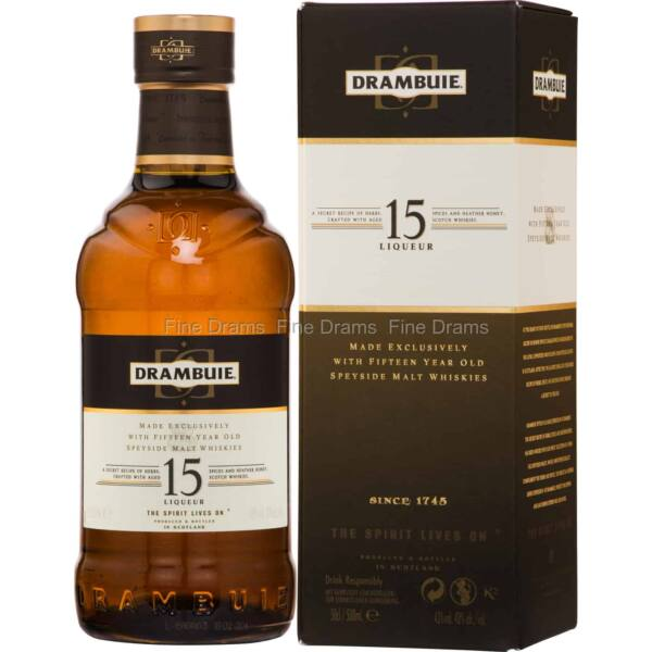 Drambuie 15 years whisky 1L 43% pdd.