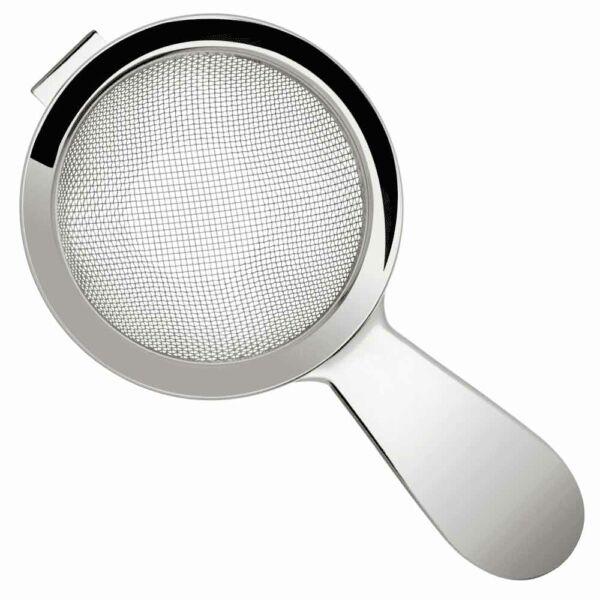 Biloxi finomszűrő 60mm-es fogantyúval ezüst színű