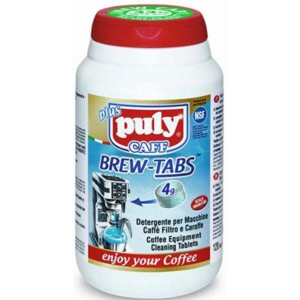 Puly tisztító tabletta 100 db/1g filteres géphez