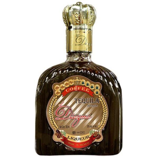El Diezmo Tequila con Cafe 0,7L 35%