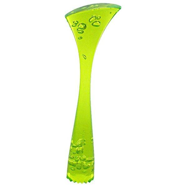Ergonómikus polikarbonát muddler zöld