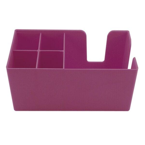 Bar organizer - bar caddy pink