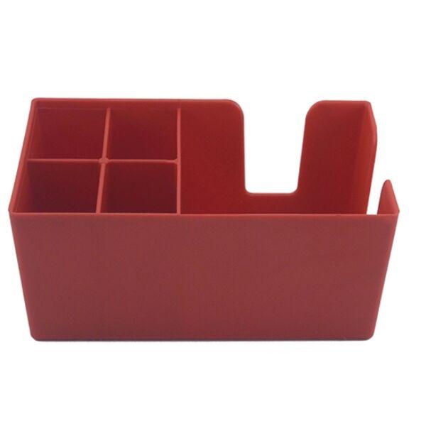 Bar organizer - bar caddy piros