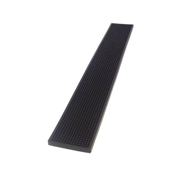 Olasz barmat - gumicsík bárpultra fekete 70x10cm