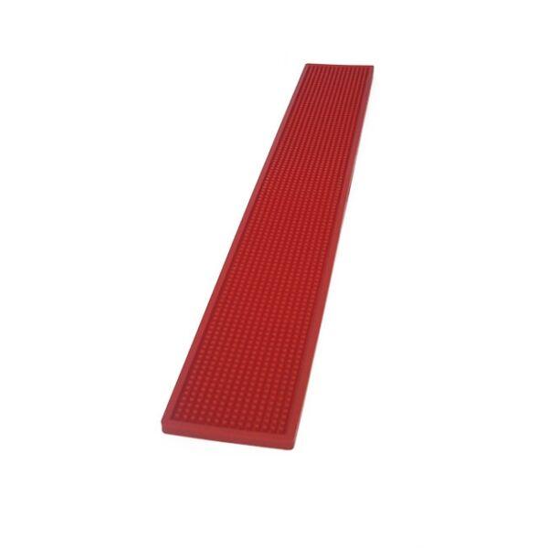 Olasz barmat - gumicsík bárpultra piros