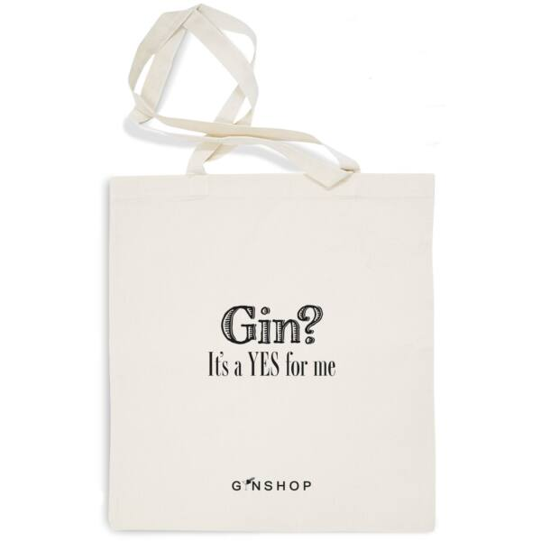 Feliratos Gin Tonic Vászontáska Gin?