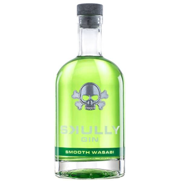 Skully Smooth Wasabi Gin 41,8% 0,7L