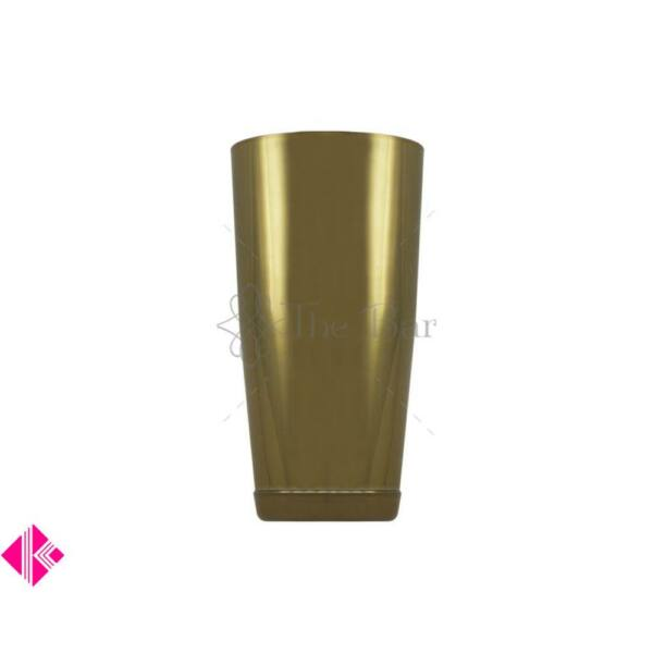 The Bars minőségi súlyozott boston koktél shaker arany