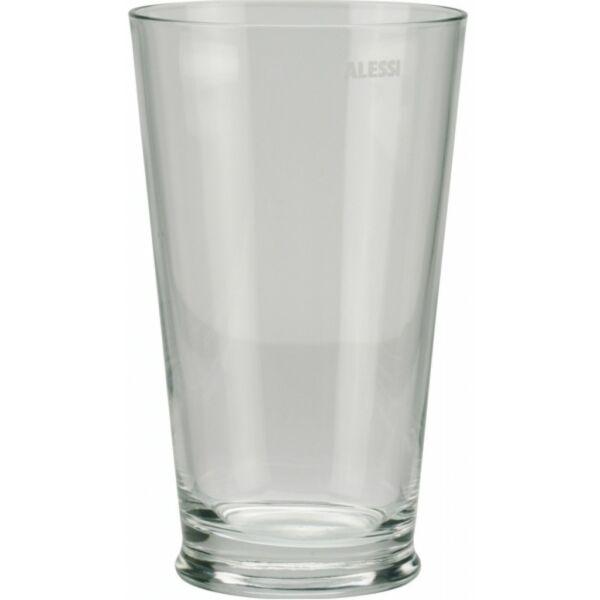 Alessi típusú üveg keverőpohár