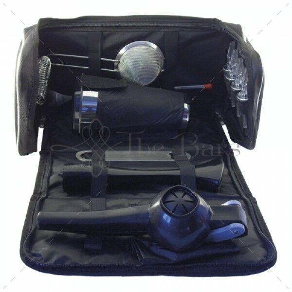 The Bars Bartender táska, báreszközökkel fekete préssel