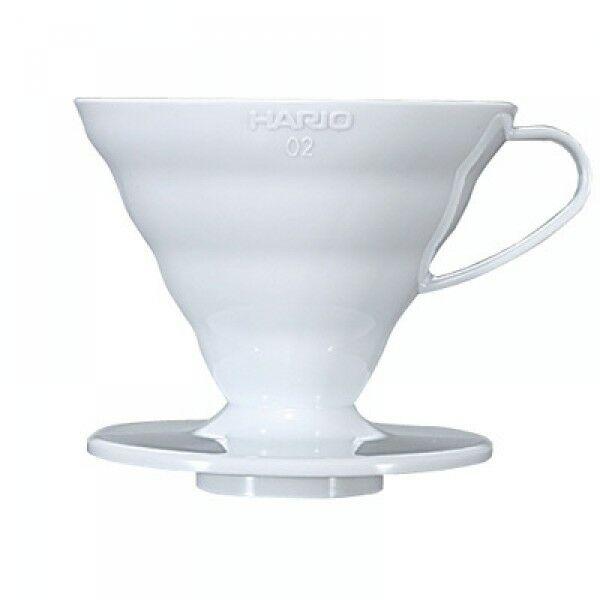 Hario V60 01 műanyag dripper fehér