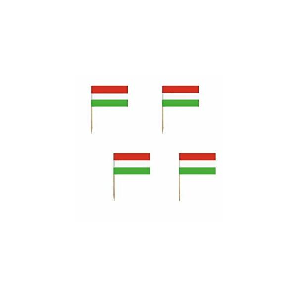 Magyar zászló pálcika 144db/cs