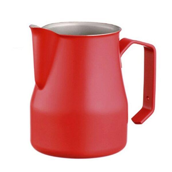 Motta tejkiöntő - tejhabosító piros 0,5L
