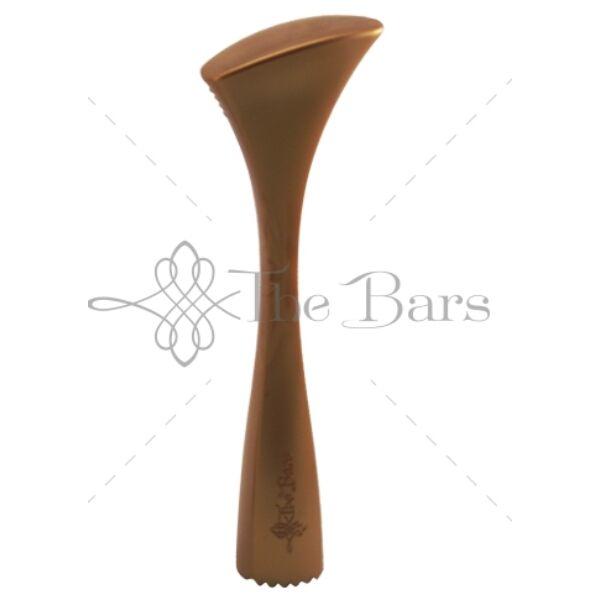 The Bars ergonómikus muddler 21 cm törőfa arany