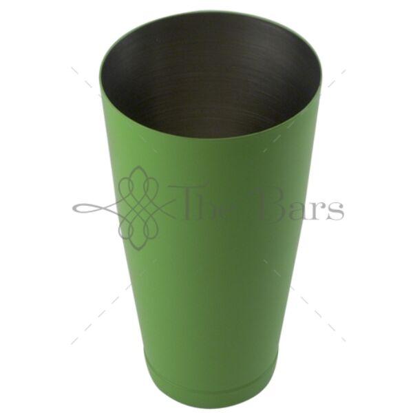 The Bars minőségi súlyozott boston koktél shaker zöld