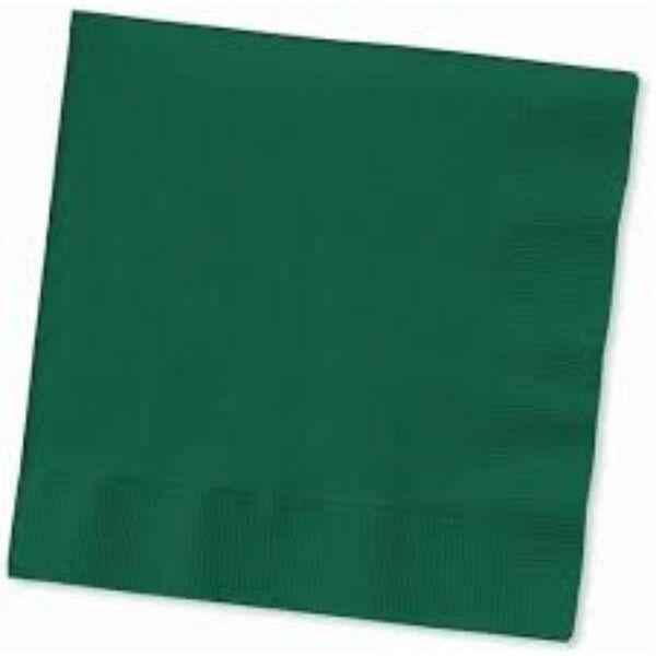 Koktélszalvéta 24x24cm 200db/cs zöld