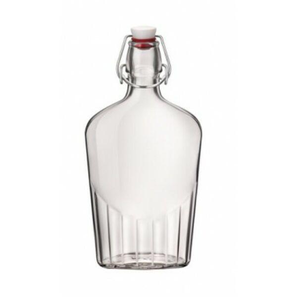 Lapos csatos üveg 0,5L