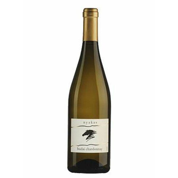 Nyakas Pince Budai Chardonnay fehérbor 2017 0,75 L