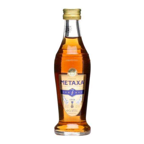Metaxa 7* Brandy mini 0,05L 40%