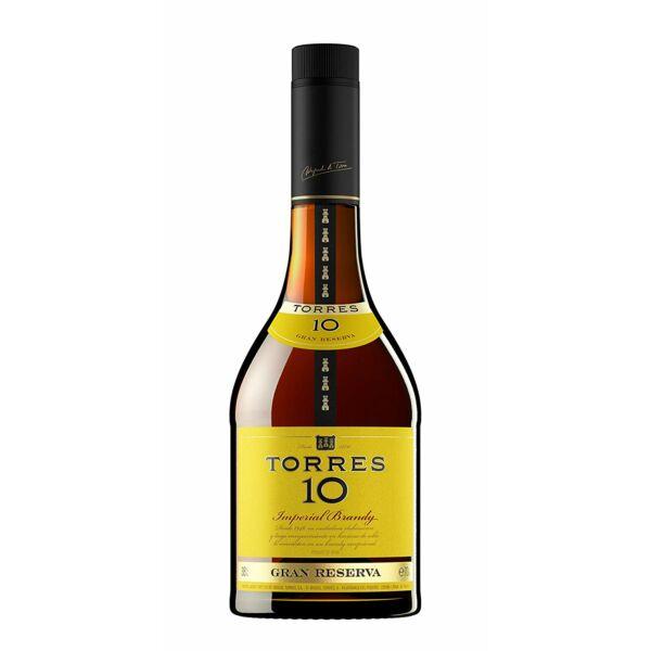 Torres 10 years Imperial Brandy 1L 38%