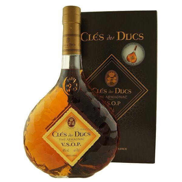 Clés des Ducs VSOP Armagnac 40% pdd.0,7