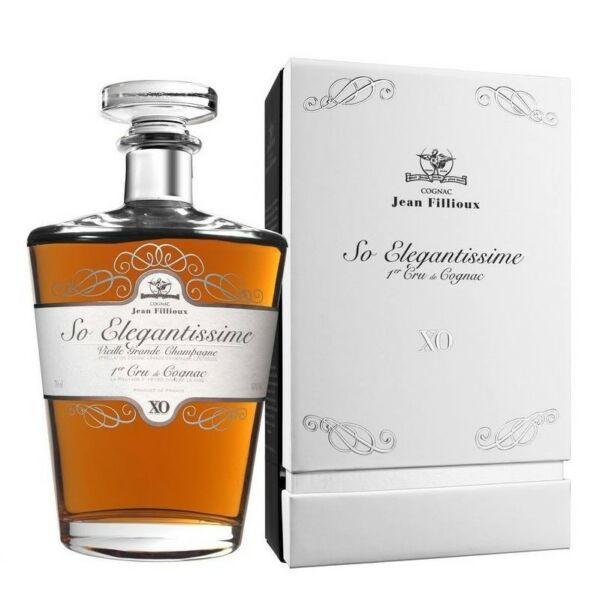 Jean Fillioux konyak XO dd. So Elegantissime 41% 0,7L