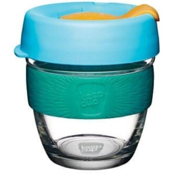 KeepCup Brew Café üveg pohár kávés termosz BREEZE 240 ml