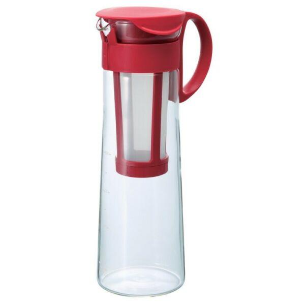 Hario Mizudashi hideg-filterkávé készítő 1L piros