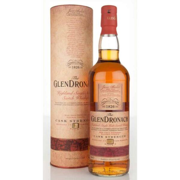 GlenDronach Cask Strength Bach no.5. whisky 0,7L 55,3% dd.