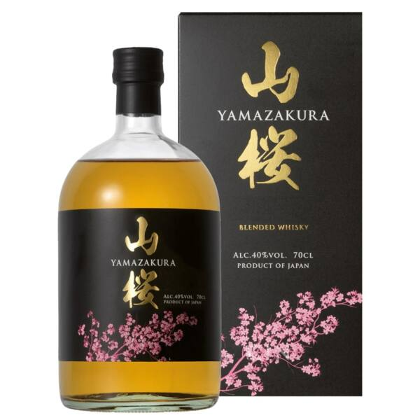 Yamazakura Blended japán whisky 0,7L 40% pdd.
