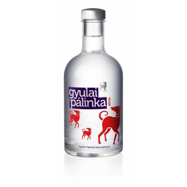 Gyulai Alma pálinka  0,35 l 42%