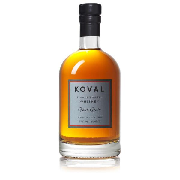 Koval Four Grain whisky 0,5L 47%