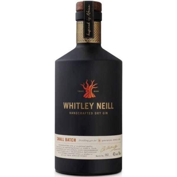 Whitley Neill Small Batch Dry Gin 0,7L 42%