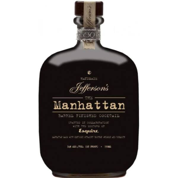 Jeffersons Manhattan cocktail 34% 0,75