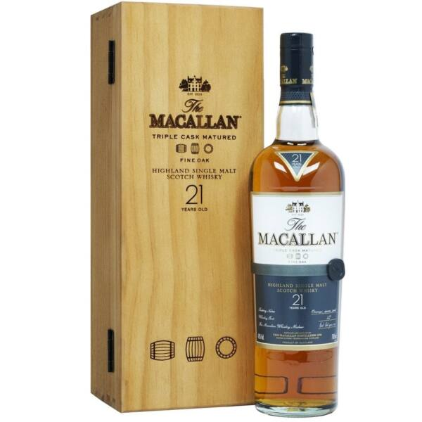 Macallan 21 years Fine Oak Triple Cask Matured 43% fa dd.0,7