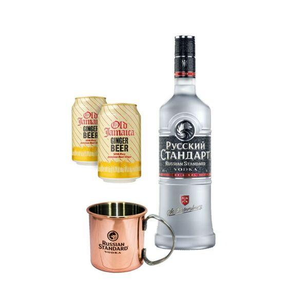 russian vodka ajandek csomag