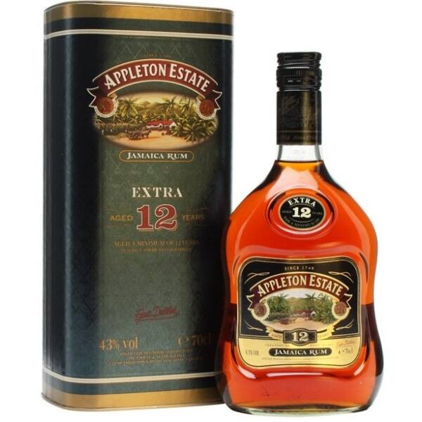Appleton Estate Extra 12 years rum 0,7L 43%