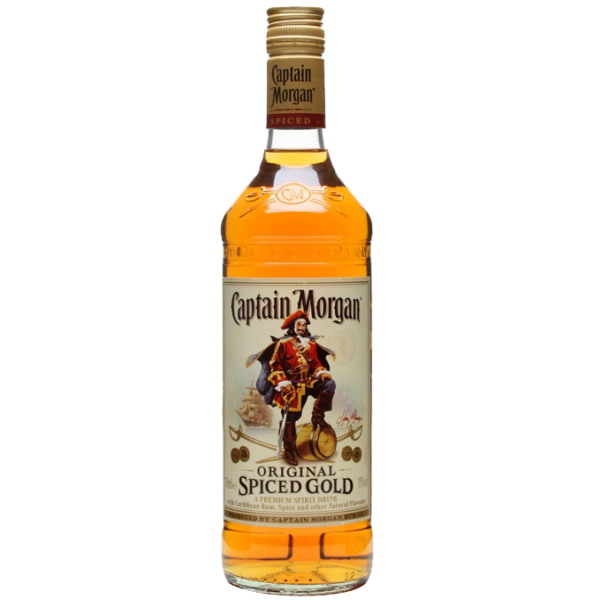 Captain Morgan Spiced Gold rum 1L 35%