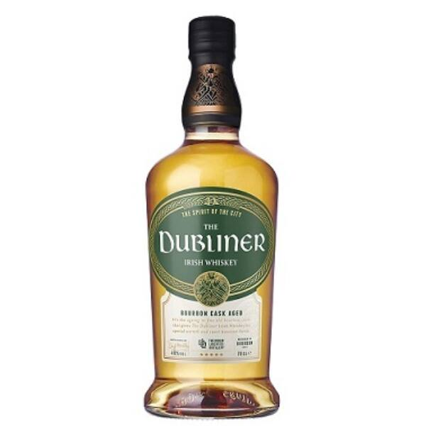 Dubliner Irish Whiskey Bourbon Cask Aged 0,7L 40%