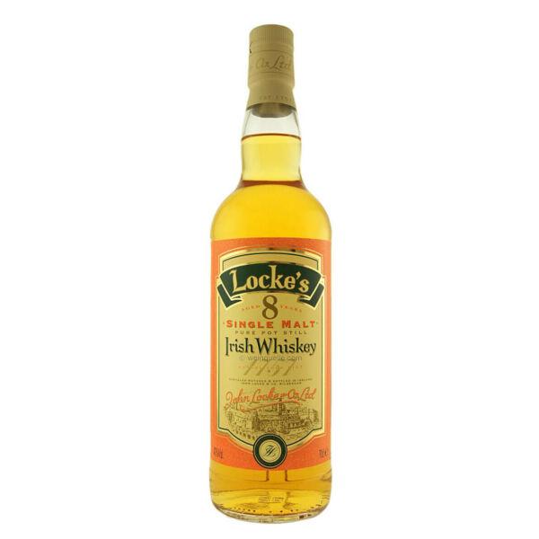Lockes Irish Single Malt 8 years 40%