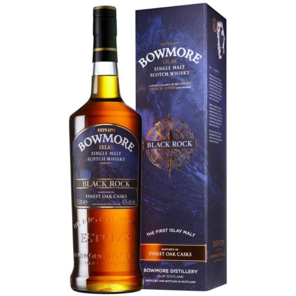 Bowmore Black Rock whisky 1L 40% pdd.