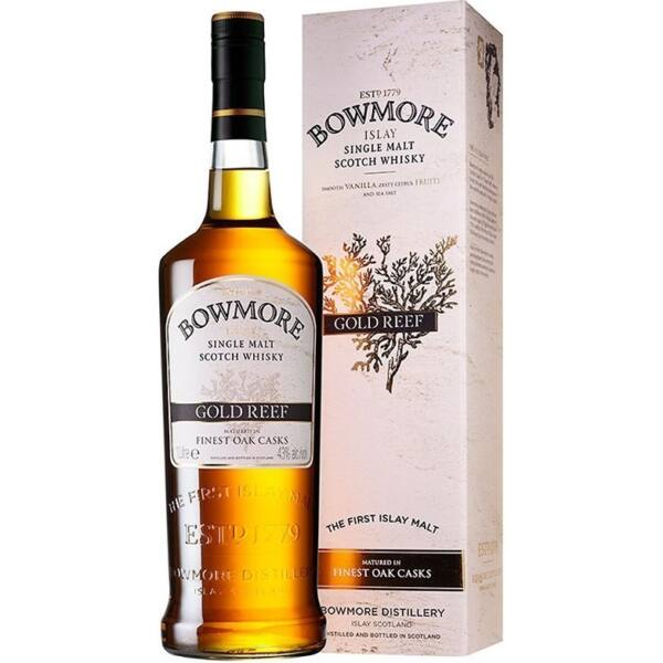 Bowmore Gold Reef whisky 1L 43% pdd.