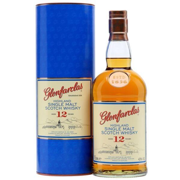 Glenfarclas 12 years whisky 0,7L 43% dd.