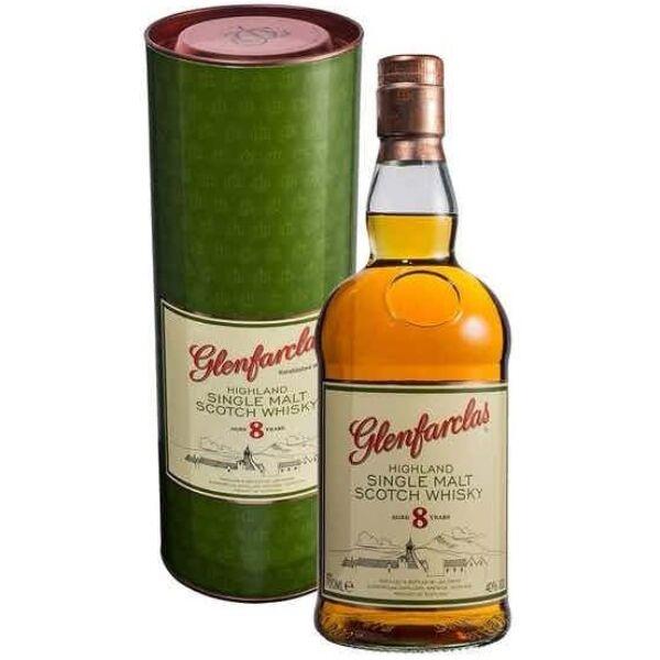 Glenfarclas 8 years whisky 0,7L 40% dd.