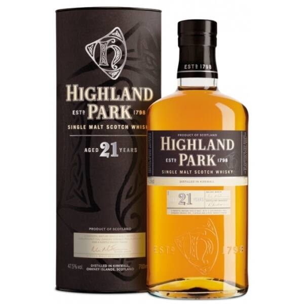 Highland Park 21 years whisky 0,7L 47,5% dd.