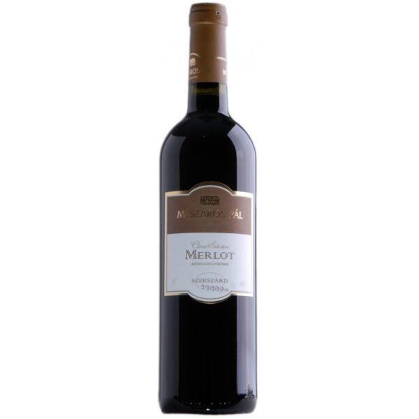 Mészáros Szekszárdi Merlot vörösbor 2015 0,75 L