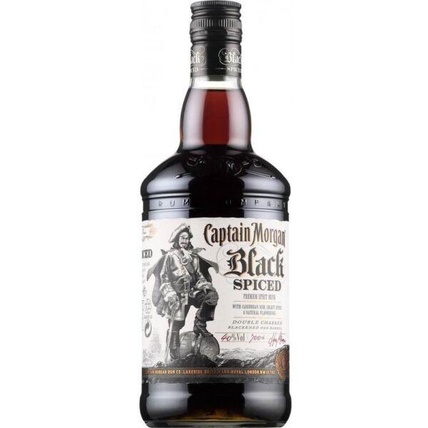 Captain Morgan Black Spiced rum 0,7L 37,5%